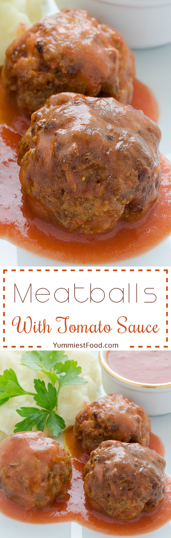 Meatballs With Tomato Sauce - Old, easy and delicious recipe - meatballs with tomato sauce which you will like the most