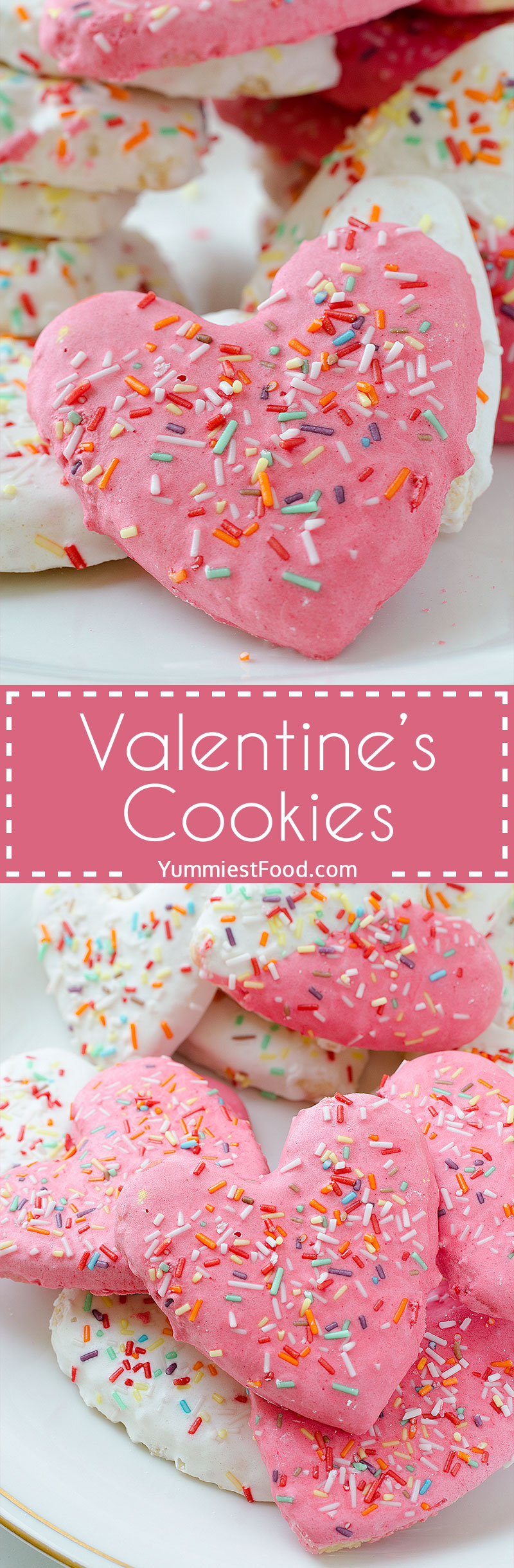 Valentine's Cookies - It is Valentine's day, let it be magical, romantic and unforgettable! With Valentine's cookies you will bring joy in your home