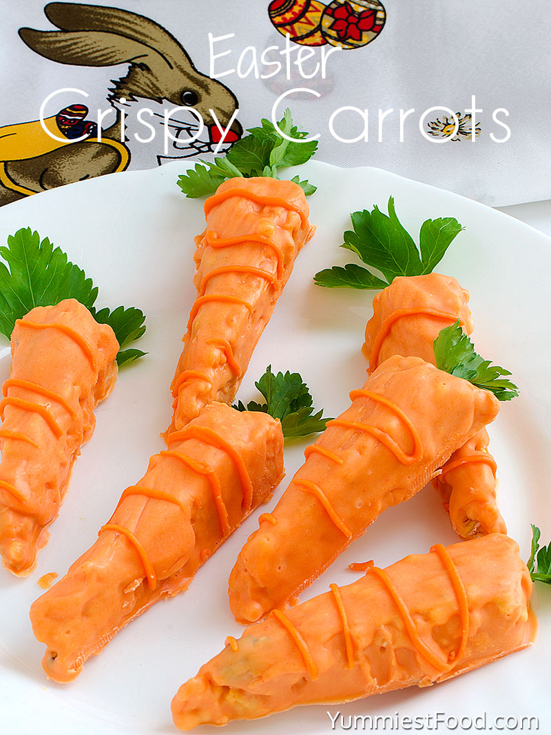 Easter Crispy Carrots