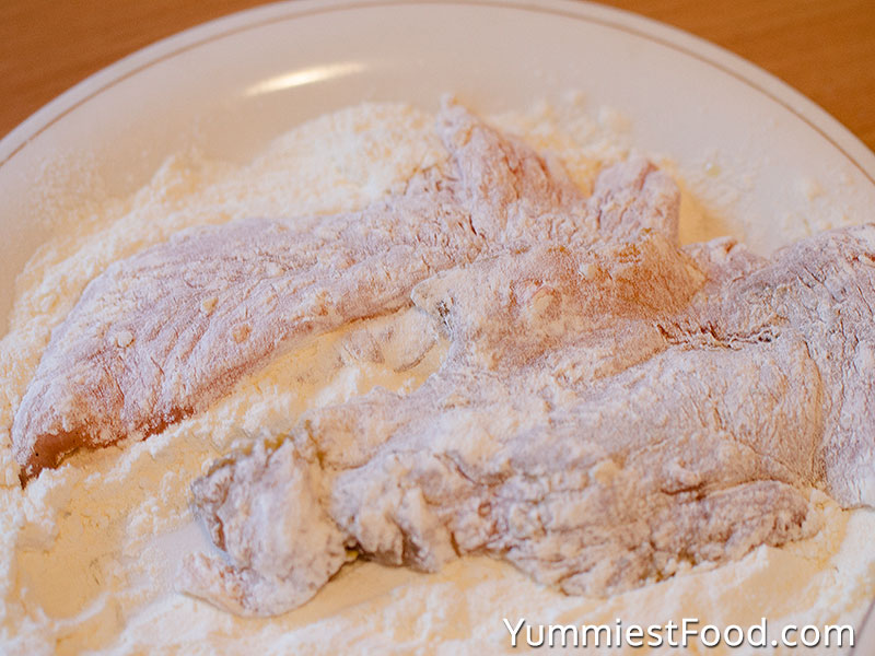 Fried Chicken Breast - Making - Step 1