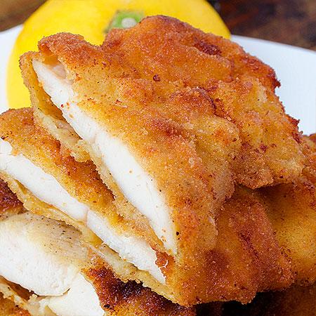 Fried Chicken Breast Recipe From Yummiest Food Cookbook