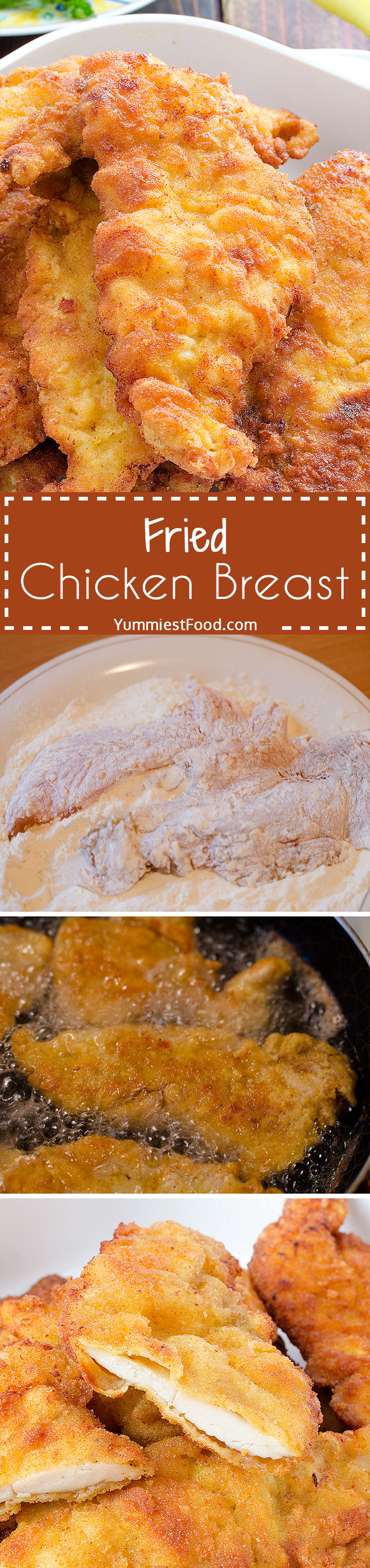 Fried chicken breast recipe from yummiest food cookbook fried chicken breast very interesting and easy way of preparing chicken breast and very forumfinder Images