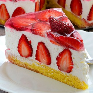 Strawberry Cheesecake - Featured Image