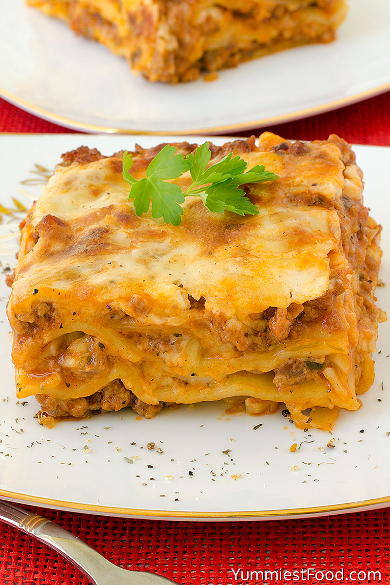 Lasagna - Served