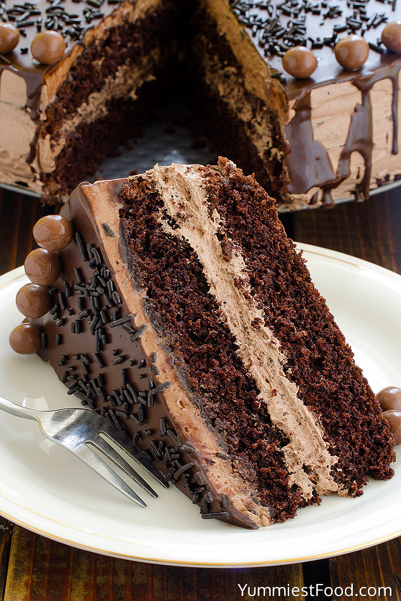Best Ever Chocolate Cake With Coffee