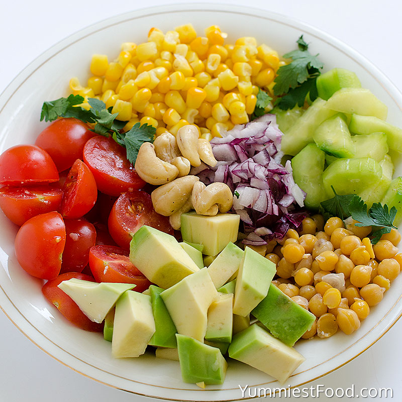 Avocado Salad - Ingredients