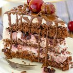 Cherry Chocolate Cake - Featured Image