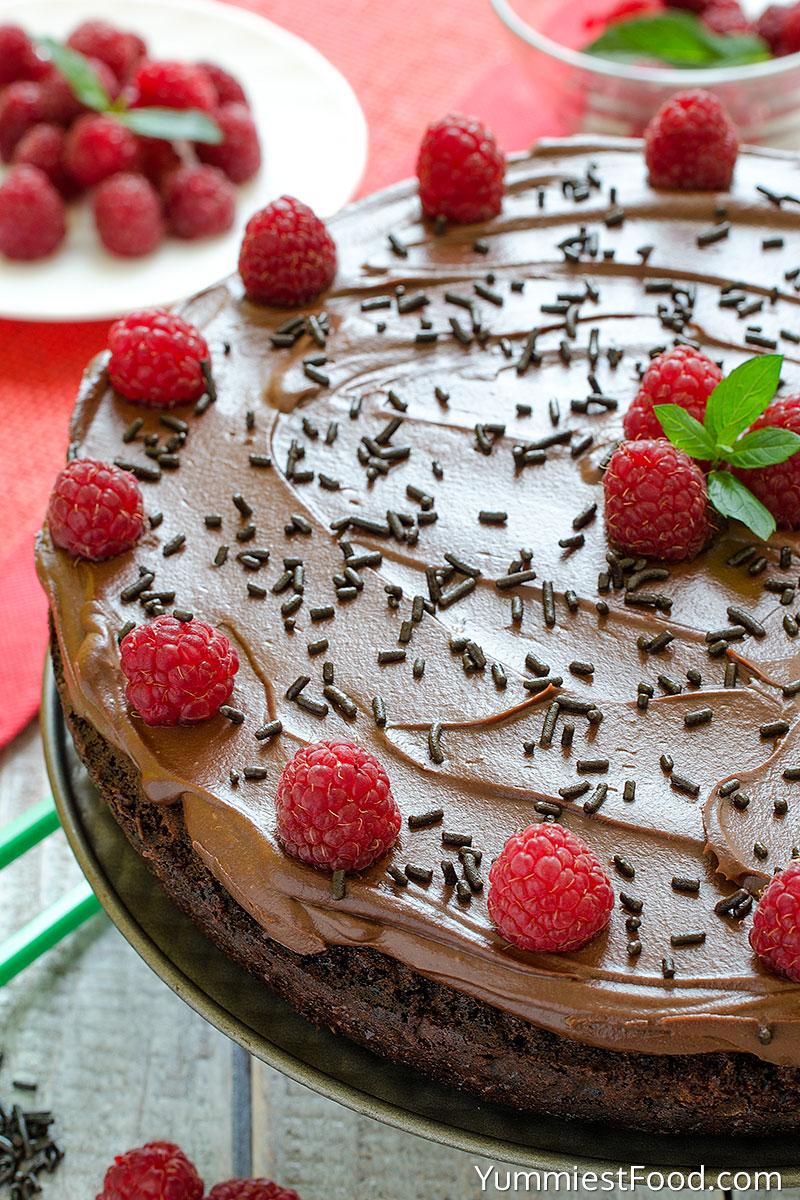 Chocolate Cake - a half Cake