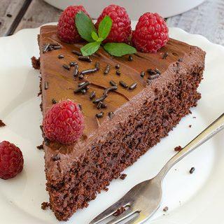 Chocolate Crazy Cake - featured image
