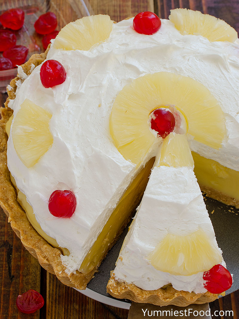 Cutted Pineapple Pie