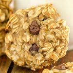 Banana Chocolate Chip Oatmeal Cookies - Featured Image