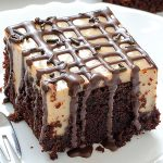 Caramel Poke Cake - Featured Image