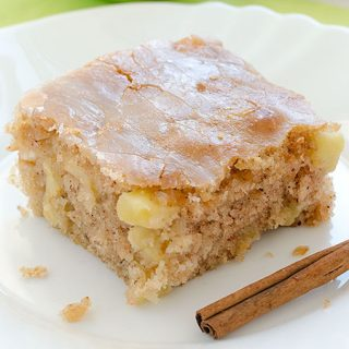 Apple Sheet Cake - Featured Image