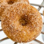 Pumpkin Cinnamon Sugar Donuts - Featured Image
