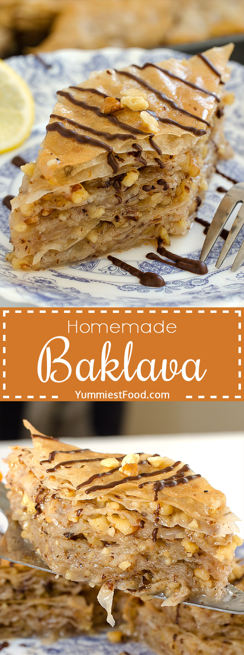 Baklava - So quick and easy to make with only few ingredients