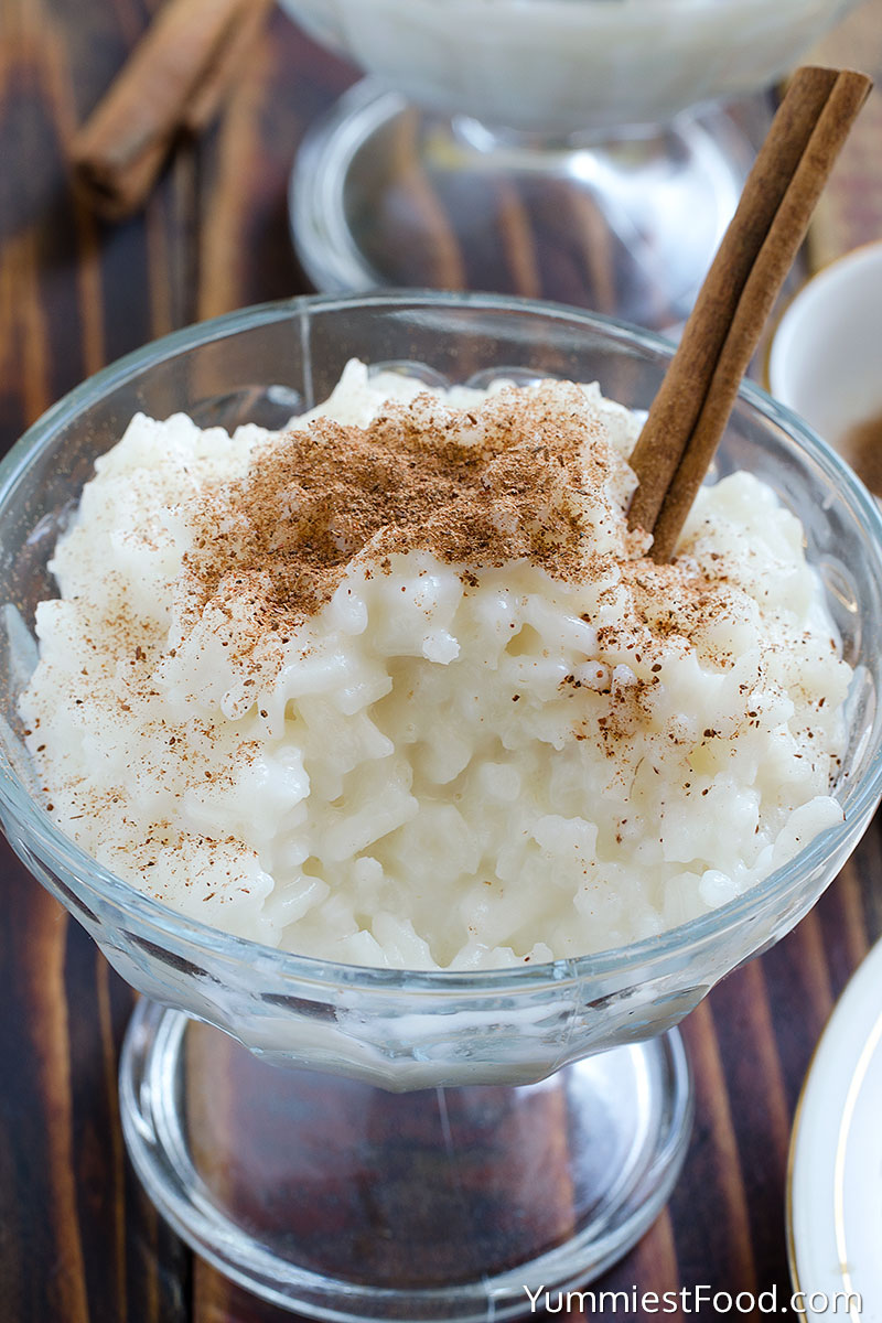 #10 Cinnamon Rice Pudding