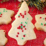 Christmas Shortbread Cookies - Featured Image