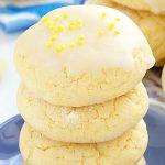 Glazed Lemon Sugar Cookies - Featured Image
