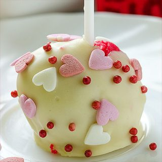 Valentine Red Velvet Cheesecake Pops