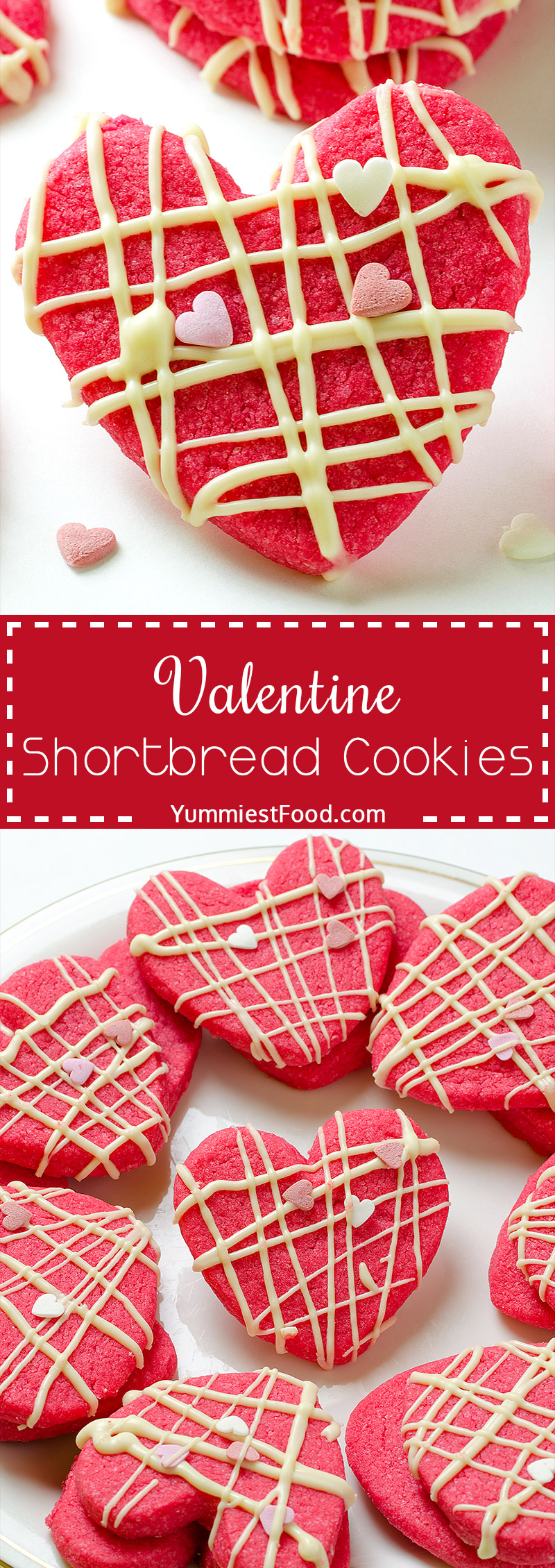 Valentine Shortbread Cookies – Make these delicious Valentine Shortbread Cookies and spend perfect moments with your partner.