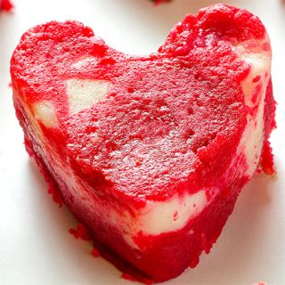 Valentine's Red Velvet Cheesecake Brownies
