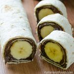 Banana and Nutella Sushi - Featured Image