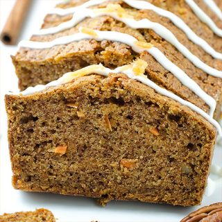 Carrot Apple Bread - Featured Image