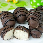Homemade Coconut Cream Eggs - Featured Image