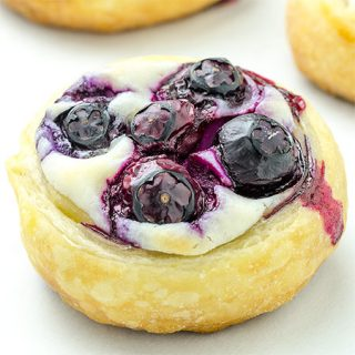 Blueberry Cream Cheese Danish - Featured Image