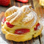 Strawberry Cream Puffs - Featured Image