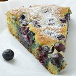 Blueberry Breakfast Greek Yogurt Cake - Featured Image