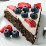 Summer Berry Brownie Pizza - Featured Image