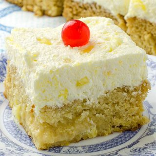 Easy Pineapple Cake - Featured Image