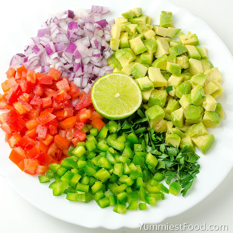 Guacamole Dip - INGREDIENTS