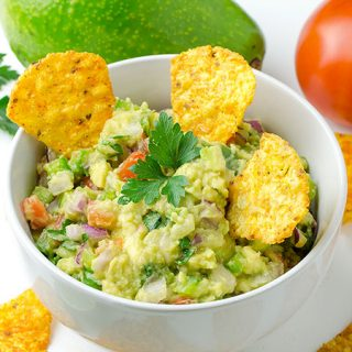 Easy Guacamole Dip - Featured Image