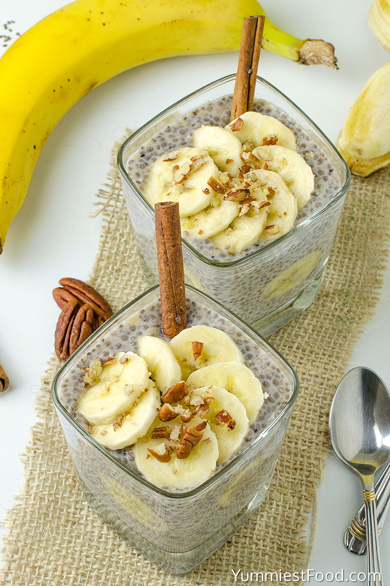 Breakfast Banana Chia Pudding
