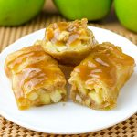 Apple Pie Egg Rolls - Featured Image