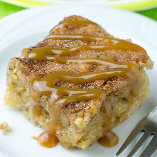 Easy Apple Blondies