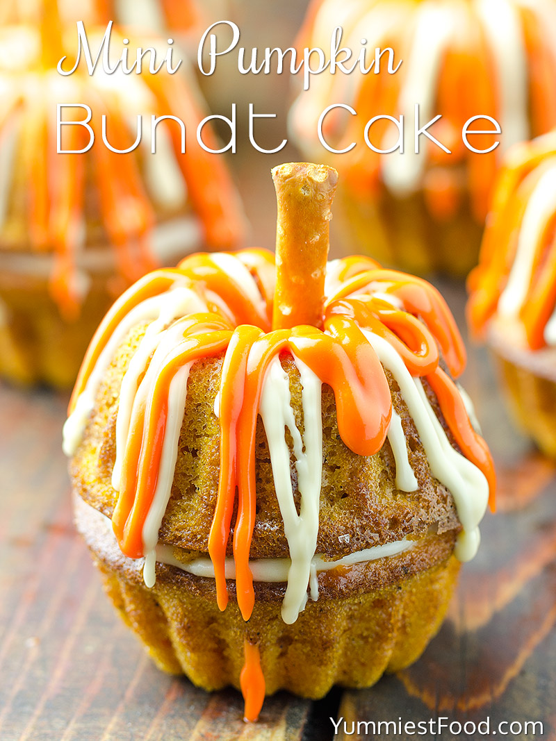 Mini Pumpkin Bundt Cake