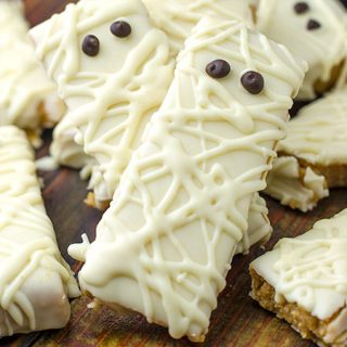 Peanut Butter Mummy No Bake