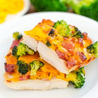 Broccoli Cheese Bacon Chicken Bake - Featured Image
