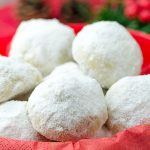 Christmas Snowball Cookies - Featured Image