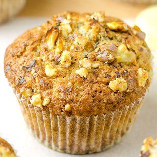 Banana Pecan Muffins Recipe