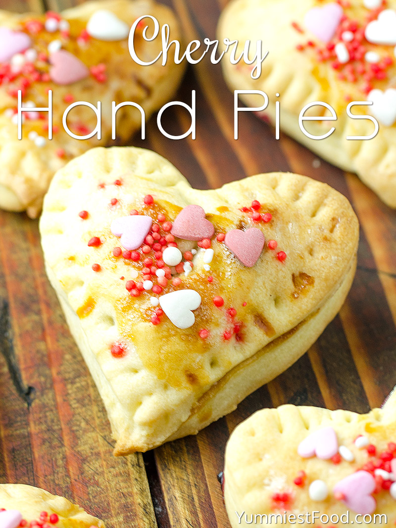 Valentine's Day Cherry Hand Pies