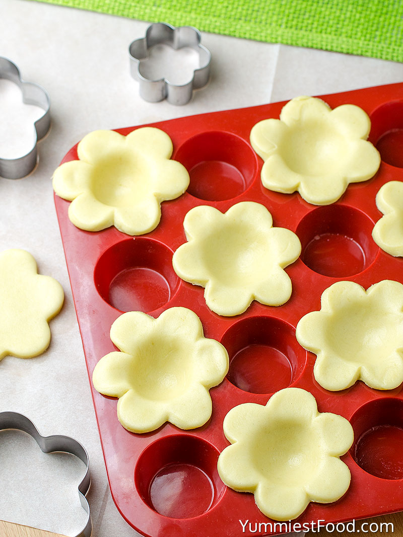 Easter Mini Lemon Tarts - Making - Step 1