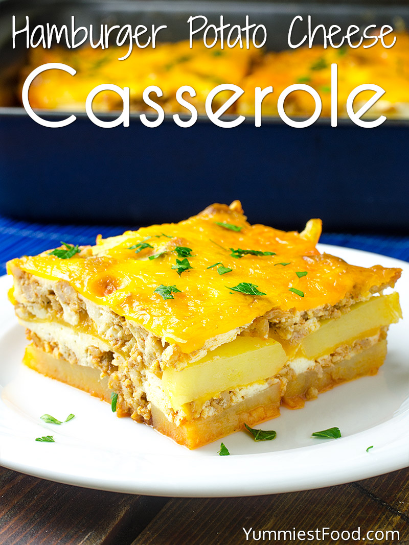 Hamburger Potato Cheese Casserole Recipe