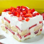 No Bake Strawberry Tiramisu Recipe - Featured Image