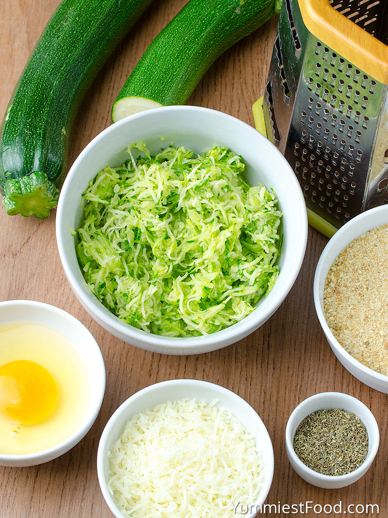 Easy Zucchini Tots Recipe - Ingredients