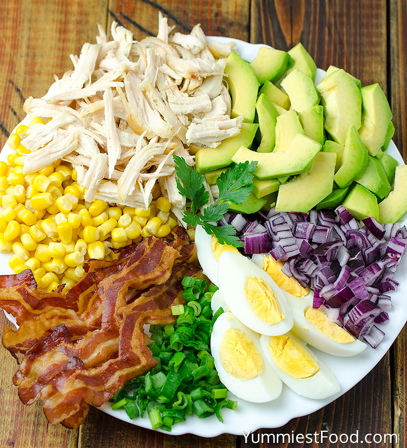 Easy Chicken Avocado Salad Recipe - Ingredients
