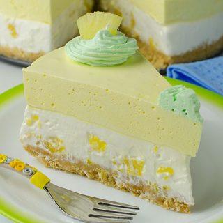 No Bake Pineapple Cheesecake Recipe